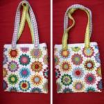 çiçek motifli çanta örnekleri