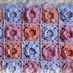 çiçek motifli örtü örneği