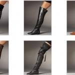 2012 bayan çizme modası