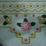 çiçekli havlu kenar örnekleri