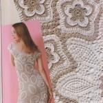 çiçekli krem beyaz  abiye elbise