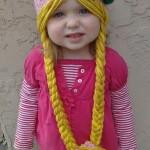 örgü kız çocuk şapka modelleri