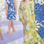 şık modern renkli dantel elbiseler