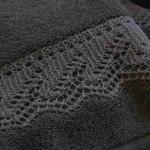 şiş ile örülmüş ajurlu havlu kenarı örnek