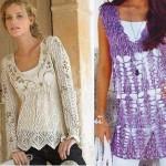 Bluz ve tunik modelleri