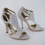Gümüş taşlı geliğn ayakkabısı