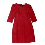 Kırmızı modern şık elbise