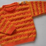 ajurlu bebek kazağı