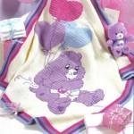ayıcık desenli bebek battaniyesi modeli