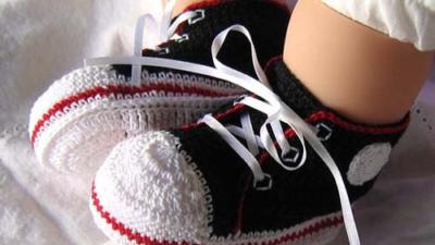 Örgü Bebek Patik Modelleri