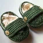 düğmeli şık bebek patikleri
