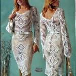 dantel V yaka abiye elbise modeli