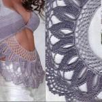 dantel gri bikini bluz modeli