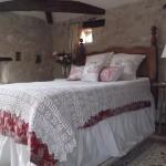 dantel işlemeli yatak örtüsü tasarımı