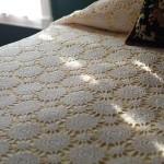 dantel yatak örtüsü dizaynı