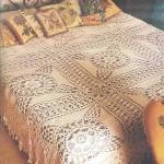 dantel yatak örtüsü tasarımları