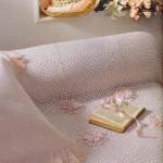 delik dolgu kolay motifli tığ işi dantel yatak örtüleri