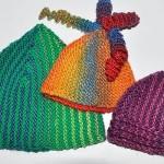 ebrulü iplerle şık şapkalar