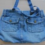 en çok tercih edilen mavi kot çanta modeli