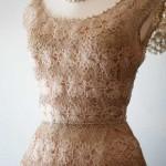 farklı dantel abiye gece elbisesi modeli