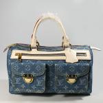 fermuarlı spor kot çanta modeli