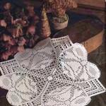 fiyonk motifli tek parça dantel salon takımı