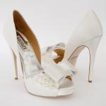 fiyonklu gelin ayakkabı tasarımları