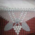 gri simli havlu kenarı modeli