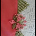 iğne oyası çiçek motifi