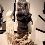 ilginç örgü elbise modeli
