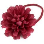 kırmızı gül yapraklı lastik toka modeli