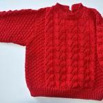 kırmızı kazak örneği