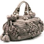 kahverengi küçük örgü çanta modeli
