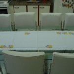 kanaviçe işi mutfak masa örtüsü tasarımı