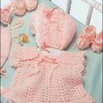 kavuniçi renginde şapkalı patikli bebek bluzu modeli