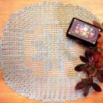 krem mini masa örtüsü örneği