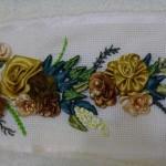 kurdela nakışı havlu tasarım