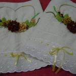 kurdela nakışlı havlu model