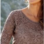 modern şık dantel elbise örnek
