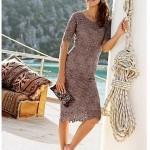 modern şık dantel elbise örnekleri