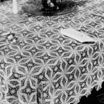 motif motif beyaz dantel masa örtüsü modeli