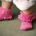 pembe bebek çorabı modeli