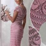 pembe dantel elbise örnekleri