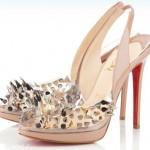 platform pudra rengi ayakkabı modeli