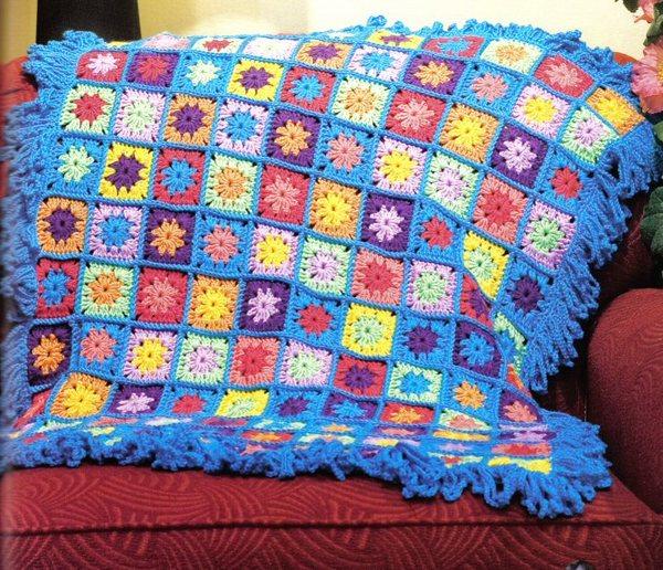 renkli çiçek desenli koltuk örtüsü modeli