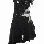 siyah örgü elbiseler