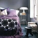 siyah yatak örtüsü modeli