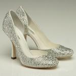 swarovski kristalli gelin ayakkabısı