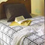 tığ işi yatak örtüleri
