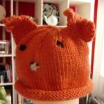 turuncu çocuk şapkası